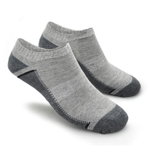Meia Masculina Casual Confort - Cinza
