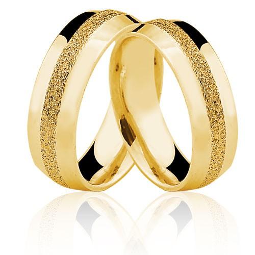 Alianças de Ouro 18k/750 AL83