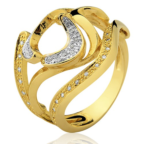 Anel de Ouro 18k/750 AN105