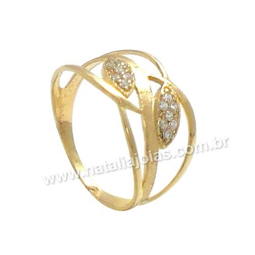 Anel de Ouro 18k/750 AN84