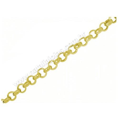 Pulseira de Ouro 18k/750 PL05
