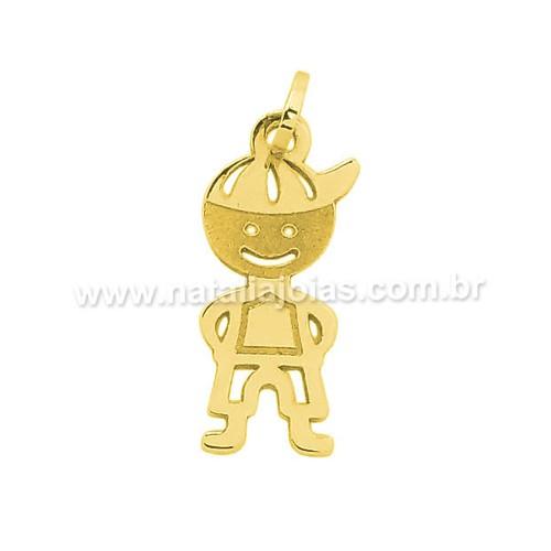 Pingente de Ouro 18k/750 PG101