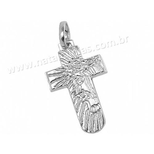 Pingente de Prata 925 Crucifixo PG33