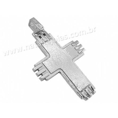 Pingente de Prata 925 Crucifixo PG41