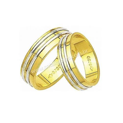 Alianças de Ouro 18k/750 AE10