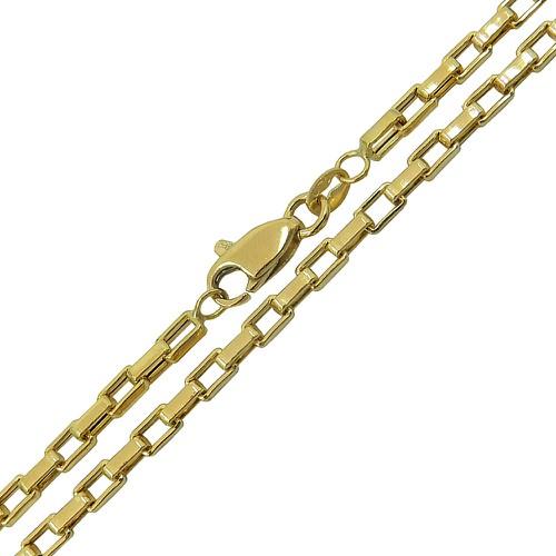 Corrente Cartier Masculina em Ouro 18k 70cm