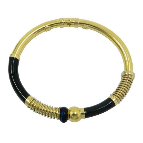 Bracelete em Ouro 18k com Mola de Pressão