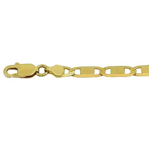 Pulseira Masculina de Ouro 18K Modelo Piastrine 9,4g