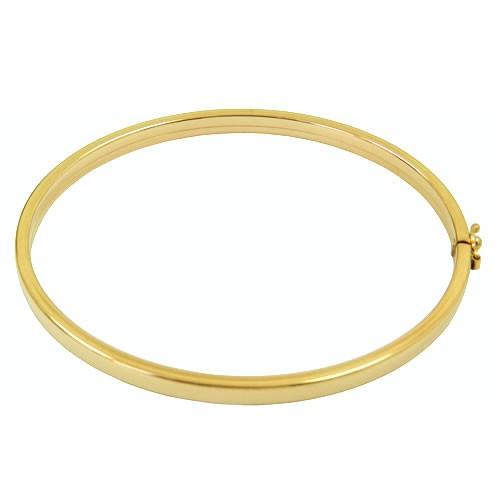 Pulseira Bracelete em Ouro