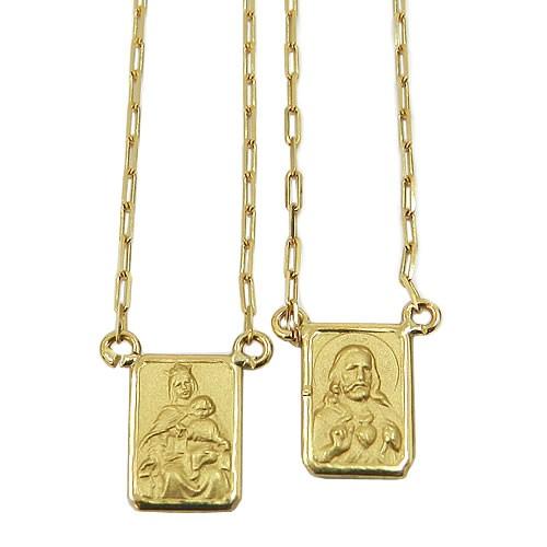 Escapulário em Ouro 18k Cartier