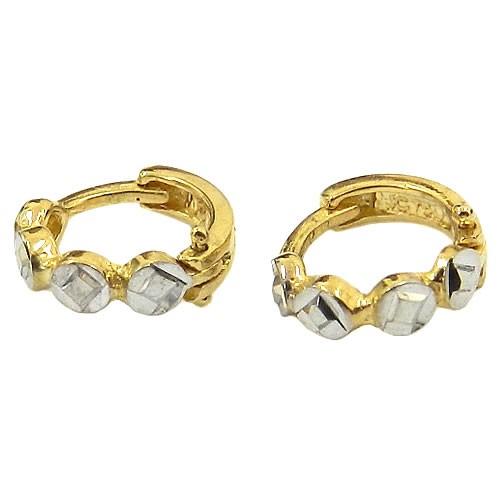 Argolinha Diamantada de Ouro 18K