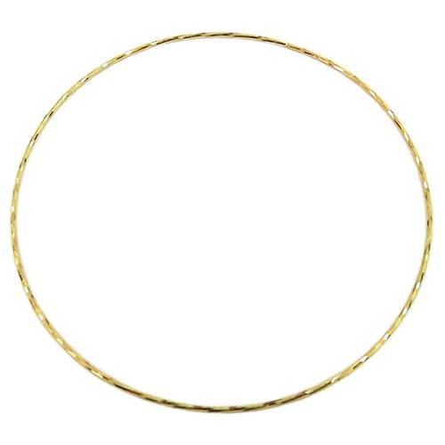 Aro Bracelete de Ouro 18K