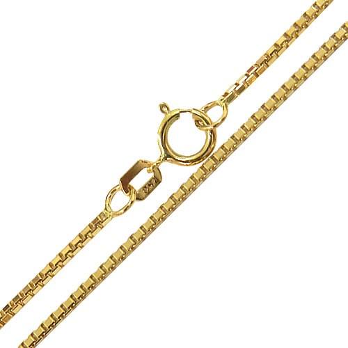 Corrente Veneziana Masculina em Ouro 70cm
