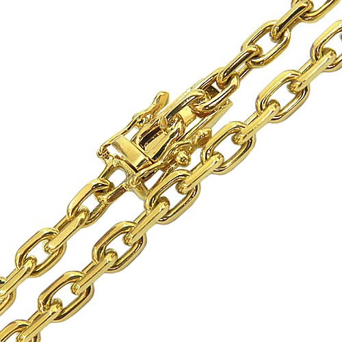 Corrente Cartier Maciça em Ouro 18K 70cm