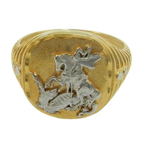 Anel em Ouro São Jorge