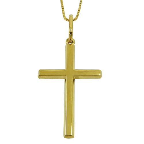 Crucifixo de Ouro 18k 0,750