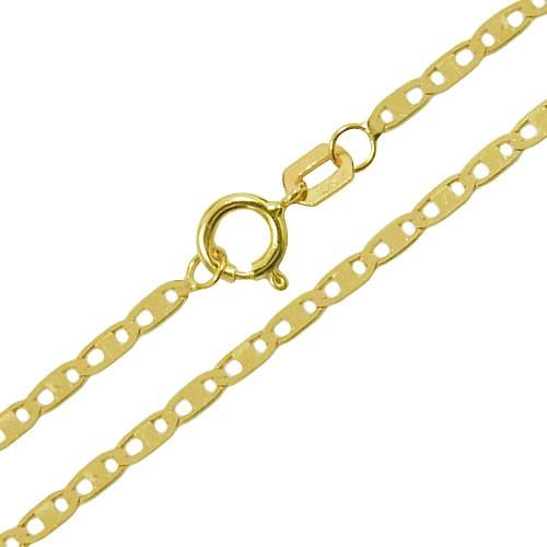 Corrente de Ouro Piastrine 50cm