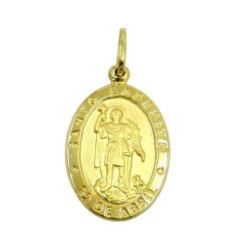 Medalha em Ouro 18k Santo Expedito