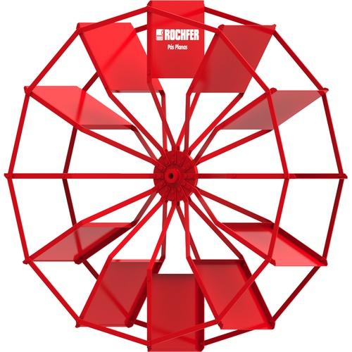 Roda D'água 1,65 x 0,48 m - Pás Planas