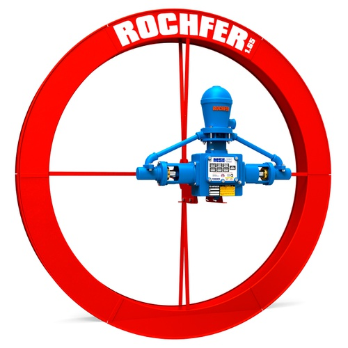 Bomba Rochfer Mse-32 + Roda Dágua 1,65x0,13m + Mini Suporte