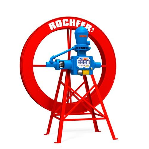 Bomba Rochfer Ultra-42 Flex + Roda D'água 1,10 x 0,13 m + Suporte