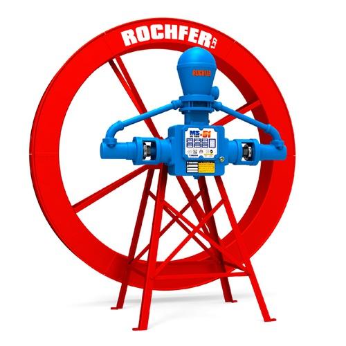 Bomba Rochfer Ultra-51 + Roda D'água 1,37x0,17m + Suporte