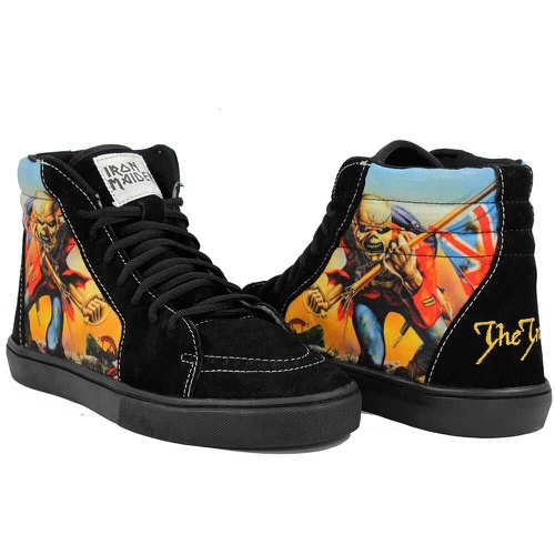 Iron Maiden The Trooper - 006 - BANDSHOES