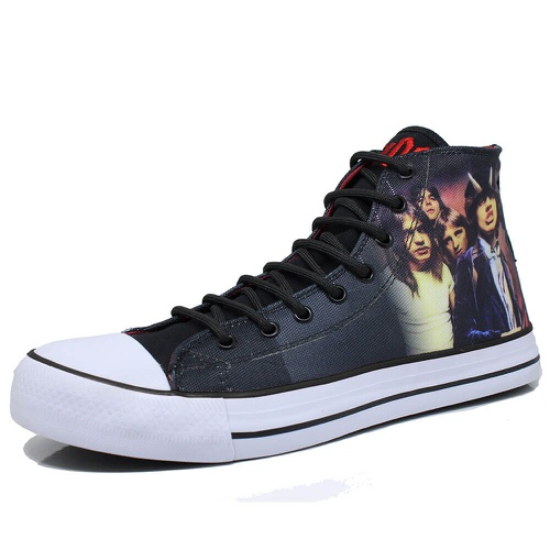 Tênis Band Shoes Highway to Hell - hig01 - BANDSHOES