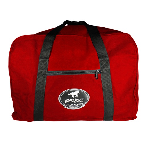 Bolsa de Nylon Para Sela Vermelha - Boots Horse