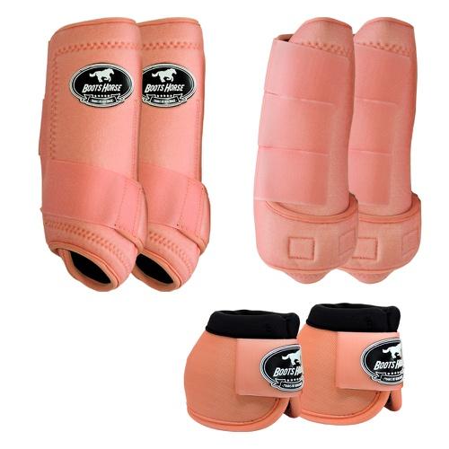 Kit Boots Horse Completo, Caneleira dianteira, traseira e cloche