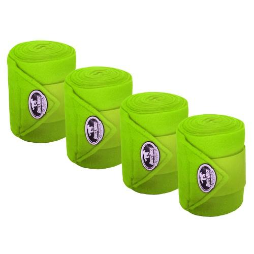Liga de Descanso c/ Stretch Verde Limão Boots Hors... - Cavalaria Shop