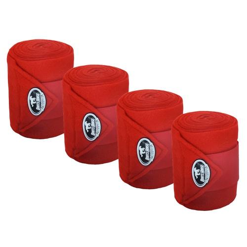 Liga de Descanso c/ Stretch Vermelha Boots Horse - Cavalaria Shop