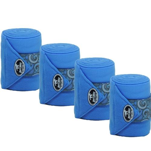 Liga de Descanso Azul Turquesa c/ Velcro Estampado... - Cavalaria Shop