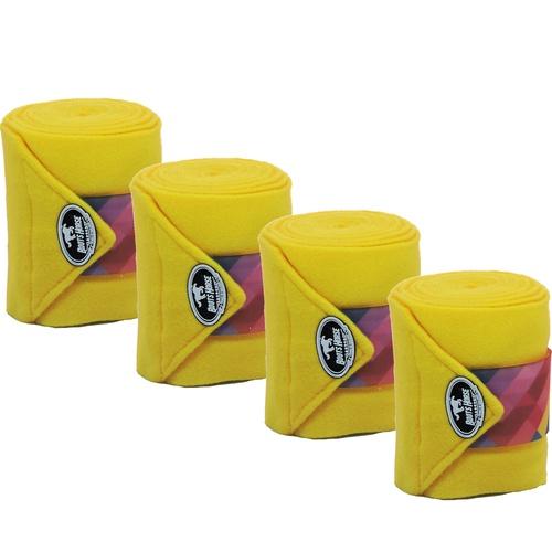 Liga de Descanso Amarelo c/ Velcro Estampado Boots... - Cavalaria Shop