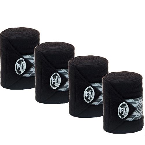Liga de Descanso Preta c/ Velcro Estampado Boots H... - Cavalaria Shop