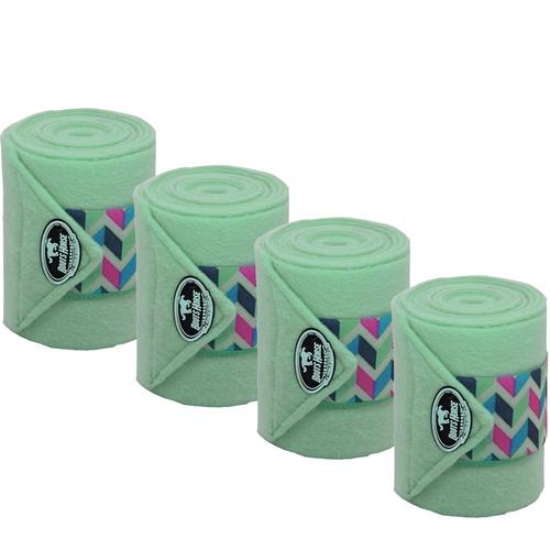 Liga de Descanso Verde Água c/ Velcro Estampado Bo... - Cavalaria Shop