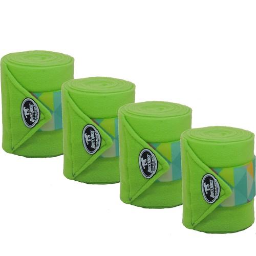 Liga de Descanso Verde Limão c/ Velcro Estampado B... - Cavalaria Shop