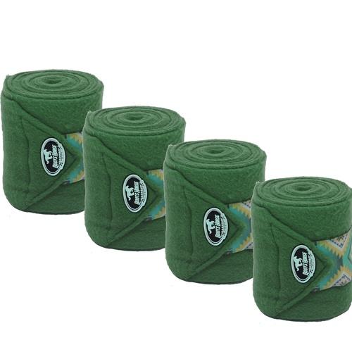 Liga de Descanso Verde c/ Velcro Estampado Boots H... - Cavalaria Shop