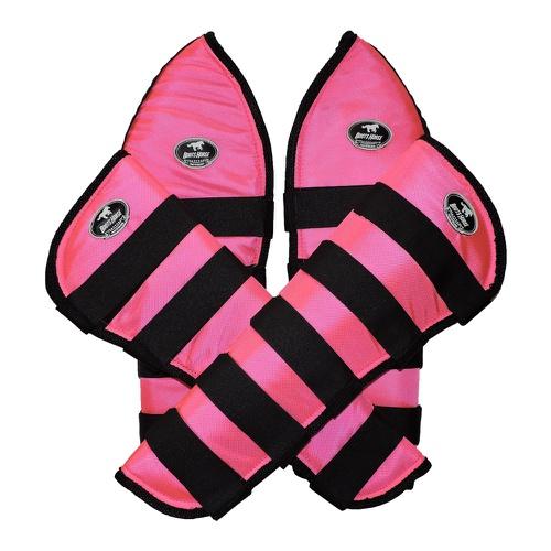 Protetor de Viagem Pink C/ Velcro Preto - Boots Ho... - Cavalaria Shop