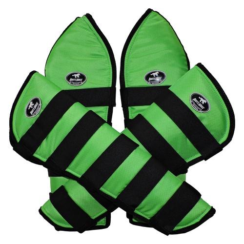 Protetor de Viagem Verde Limão C/ Velcro Preto - B... - Cavalaria Shop