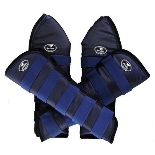 Protetor de Viagem Azul Marinho - Boots Horse - Cavalaria Shop
