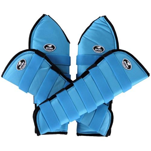 Protetor de Viagem Azul Turquesa - Boots Horse - Cavalaria Shop