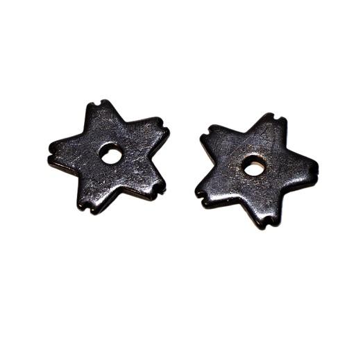 Roseta p/ Espora 5 Pontas Ferro Importada - Black ... - Cavalaria Shop