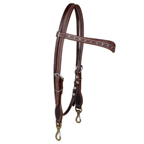 Cabeçada Couro Boots horse c/ testeira e detalhes ... - Cavalaria Shop