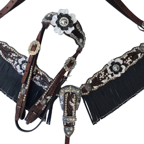 Conjunto Cabeçada e Peiteira Personalizado - Maste... - Cavalaria Shop