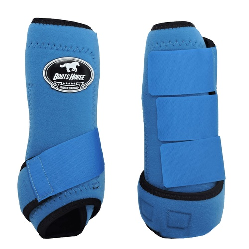 Caneleira Boots Horse Azul Turquesa