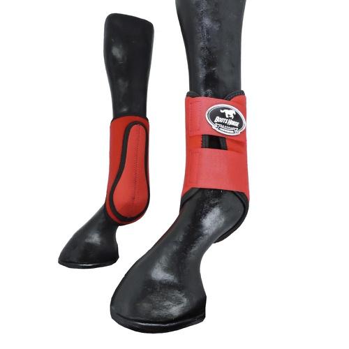 Caneleira Vermelho - Boots Horse - Cavalaria Shop