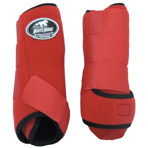 Caneleira Boots Horse Vermelha