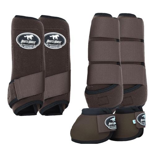 Kit Boots Horse Caneleira e Cloche Completo