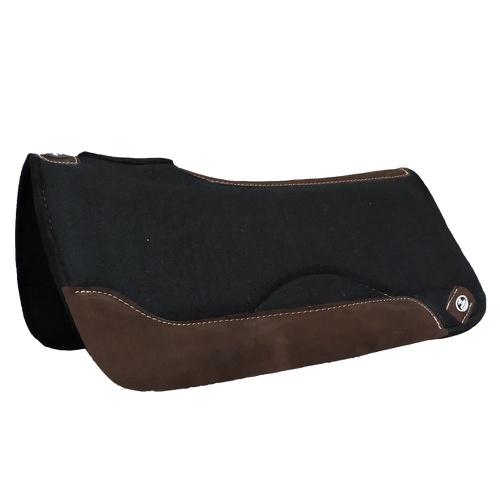 Manta Impacto Pad Boots Horse Feltro Preto Tambor - Cavalaria Shop